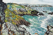 Art for the Love of Sark - notecards