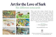 Art for the Love of Sark notecards